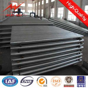 110kv Steel Angle Transmission Heavy Tension Pole