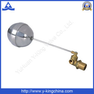 Brass Float Ball Valve with Stainless Ball (YD-3014) pictures & photos