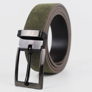 New Fashion Men Suede Leather Belt