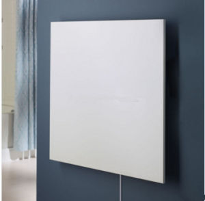 China White Pet Infrared Heating Panel, Infrared Wall Heaters Bathroom