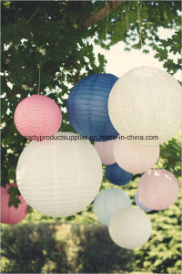 Wholesale Colorful Hanging Chinese Paper Lanterns for Wedding Party Decoration