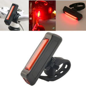 Wholesale Customized Amazon Bicycle Light USB Rechargeable 120lm 4 Mode Professional Tail Bike Rear Light pictures & photos