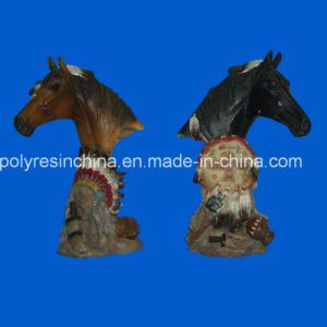 Polyresin Horse Statue Decoration, Resin Horse Ornament pictures & photos