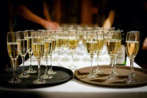 SMC Fiberglass Non Slip Serving Tray Bar Pub Waiter Dinner Drinks Food