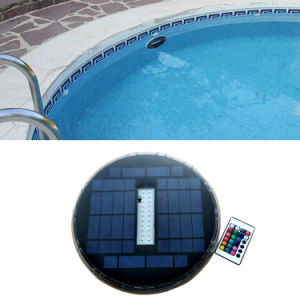 China Solar Powered Underwater Pool Light - China Solar Powered ...