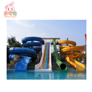 China Used Fiberglass Kids Adult Swimming Pool Water Slide Equipment ...