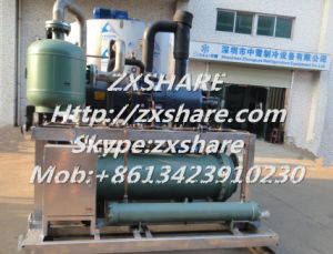 30tons Ice Flake Machine, Ice Flaker, Flake Ice Plant for The Concrete Cooling