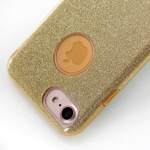 Three-in-One Slim Bling Glitter Mobile Phone Cases for iPhone 7 Case pictures & photos