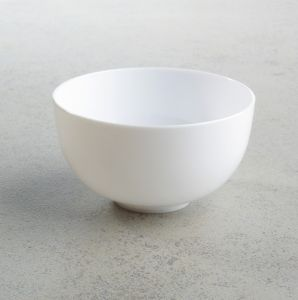 Simple But Good Quality White Plastic Bowl