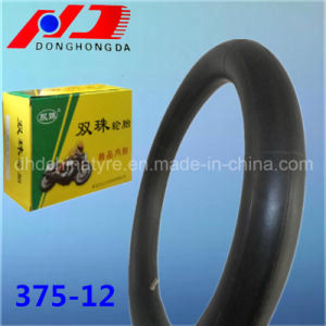 Natural Rubber 375-12 for South America Motorcycle Inner Tube