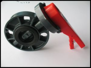 "PVC Butterfly Valve / Valve with Dn65 (2-1/2"") for Water Treatment"