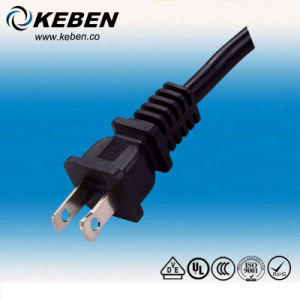 China USA UL Approved Polarity 2pin AC Power Plug (AC116) - China Us ...