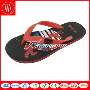Child Colorful Plain Flip Flops Casual Indoors Slippers