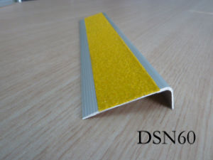 Aluminu8m Stair Protector With Carborundum (DSN60)