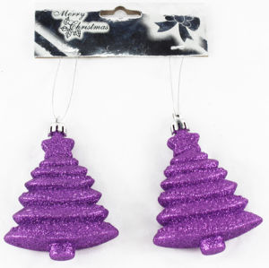 Christmas Decoration Hangding Tree for Purple