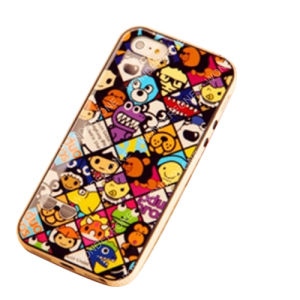 Wholesale Price Cartoon Silicone Case for iPhone 5/5c/5s pictures & photos