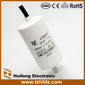 Hf Cbb60 Cable Series with Screw Bottom 450V 18UF pictures & photos
