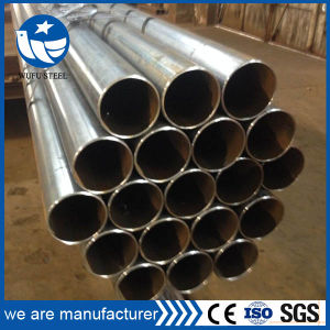 ERW Carbon Black Steel Tube Steel Pipe pictures & photos