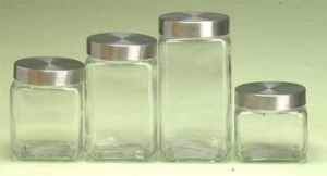 Square Glass Jars/Food Storage Jar/ Container pictures & photos