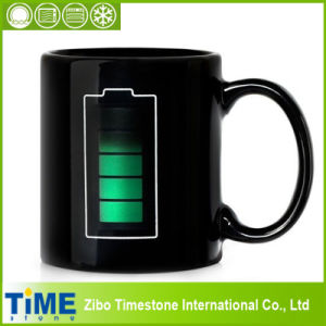 Tech Battery Color Changing Heat Sensitive Mug Tea Coffee Cup (CM-001) pictures & photos