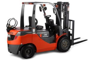 3.0 T LPG & Gasoline Forklift with Mitsubishi Engine CE Approved pictures & photos