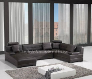 Modern Leather Living Room Sofa