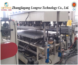 PC Hollow Sunlight Sheet Production Line Poly Carbonate Board Extrusion Line (LGPC-3) pictures & photos