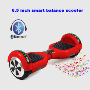 6.5 Inch Mini Hover Board Smart Electric Scooter with Bluetooth&LED Flasher