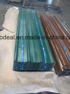 Popular Zinc Coating Corrugated Metal Roofing Sheet in Africa