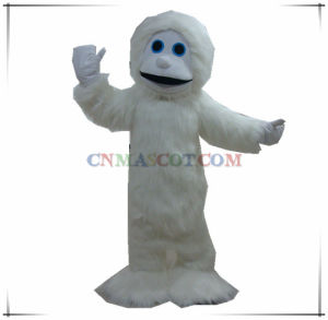Hot Sale White Monkey Mascot Long Plush Mascot Costume