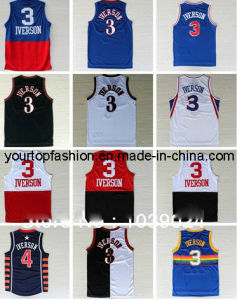 sale retailer d97b1 23826 China Nwt Philadelphia 3 Allen Iverson Jersey Throwback Best ...