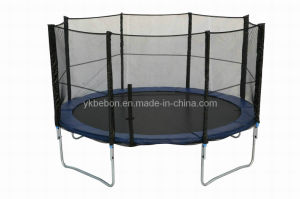 14ft Big Round Trampoline with Enclosure