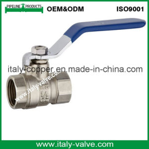Hot Selling Brass Forged Female Ball Valve with Iron Handle (AV1001) pictures & photos