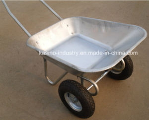 High Quality Russia Market Steel Trolley Wheel Barrow (wb6211) pictures & photos