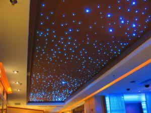 White Le Fiber Optic Star Ceiling