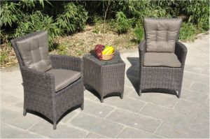 Leisure Set Wicker Chair with Table Outdoor Furniture