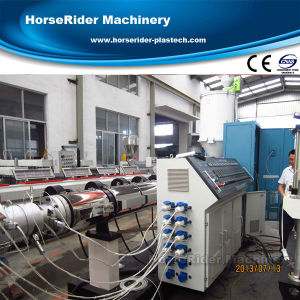 75-160mm PE Pipe Tube Extrusion Machine pictures & photos