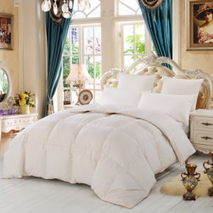 Factory Made Hotel Bed Linen Luxury Goose Down Quilt