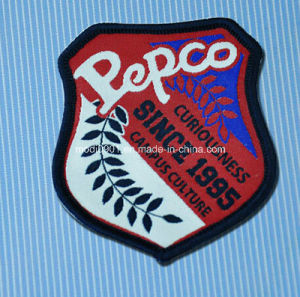 Wholesale Custom Fashion Design Clothing Woven Label for Handmade Items Merro Top Quality Woven Badge