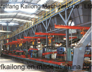Continous Mechanized Moulding Line of Green Sand pictures & photos