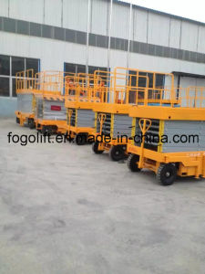 12m Mobile Electric Hydraulic Platform Lift pictures & photos