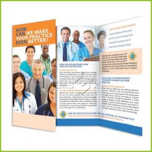 Full Color Printing Medical Brochure for Hospital / Community pictures & photos