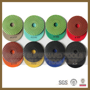 4′′ Diamond Wet Flexible Polishing Pads pictures & photos