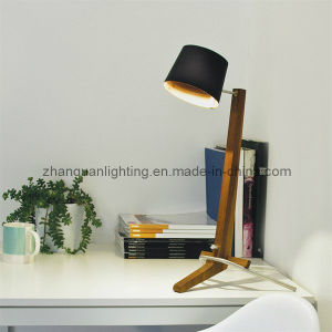 Wooden Table Lamp (T475)