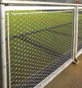 Stair Mesh Stainless Steel Cable Mesh for Building Decoration Fence pictures & photos