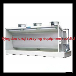 Water Curtain Paint Spray Booth for Painting Line