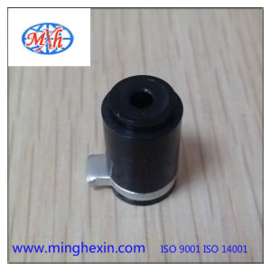 Black Plastic Metal Precision Part with ISO SGS
