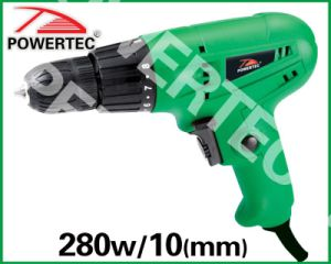 280W 10mm Electric Hand Drill (PT82081) pictures & photos