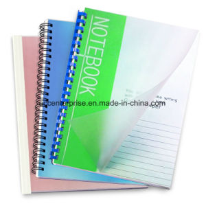 Clear and Different Color, A4 or A3 PVC Binding Cover pictures & photos