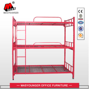 Metal Bunk Bed Can Be Used as 3 Single Beds pictures & photos